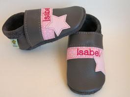 Babyschuhe mit Namen,  Krabbelschuhe personalisiert, Taufschuhe,nach Maß, breite Füße, schmalle Füße