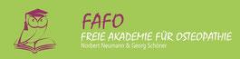 Logo Freie Akademie für Osteopathie - FAFO
