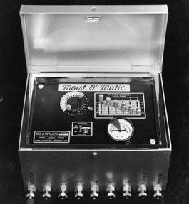 1958. Moist-O-Matic Controlador de riego.