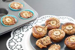 Bananenmuffins | Frühstücksmuffins