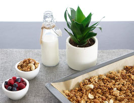 Gesundes Knuspermüsli | Granola