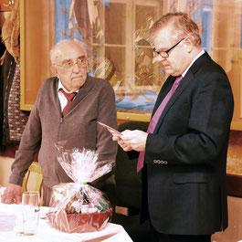 Ein nicht alltäglicher Geburtstag: Fritz Schneider feierte seinen 95. Geburtstag