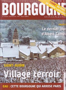 Bourgogne Magazine, Janvier/février 2014, dossier special ST-AUBIN