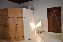salle de garde pour la fermentation pour bièreartisanale la mousse du guiers à saint genix sur guiers