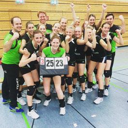 DSC-Girls nach dem Pokalsieg im Viertelfinale