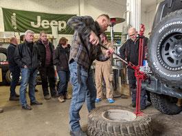 Jeep Wrangler Workshops - auch im Paket buchbar! (Red Rock Adventures)