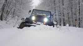 """Die legendäre """"Barbie"""", ein Jeep CJ 7"""
