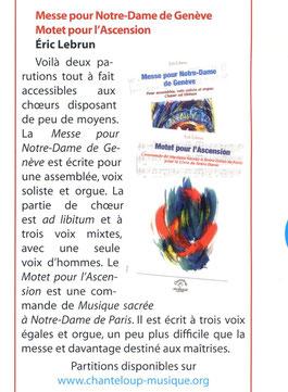 Caecilia, art sacré. n°1, Janvier 2014. p.17
