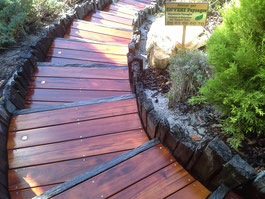 création escalier paysagère