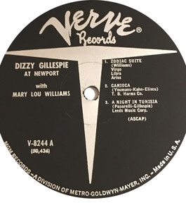 DIZZY GILLESPIE & MARY LOU WILLIAMS AT NEWPORT