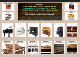 klavierehamburg.de, Vintage, mehr Auswahl