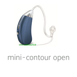 Appareil auditif mini contour OPEN