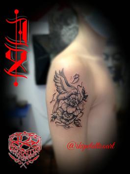 tatuaje puntillismo geometria buda tattoo meditacion chackas tatuaje arbol de la vida naturaleza raices ojo mirada cosmos universo