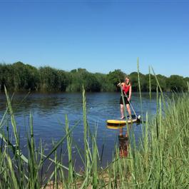 Le Teich Vacances , Bassin Arcachon Tourisme -  Paddle sur le Delta de la Leyre et le Bassin d'Arcachon