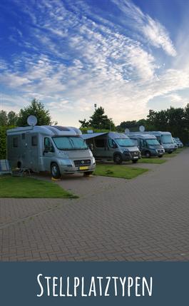 Stellplatztypen Camping- und Bungalowpark Ottermeer Wiesmoor Ostfriesland