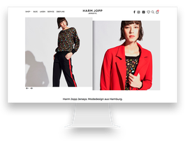 Webdesign WooCommerce Shop