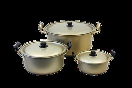 純しゅう酸実用鍋 ラインナップ