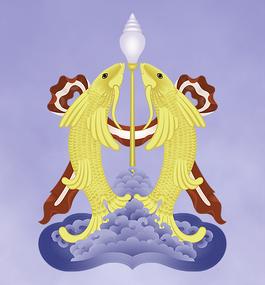 Tibet Buddha Buddhismus Yoga Meditation Glückssymbole