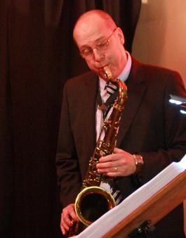 Profisaxophonist Ben Hansen