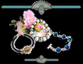 Bijoux Aux Dames de Jadis : des bracelets au charme coloré ou classique