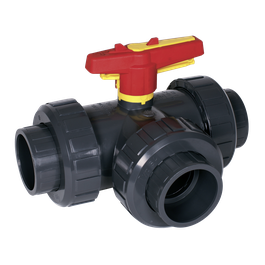 Praher 3-way Ball Valve S4