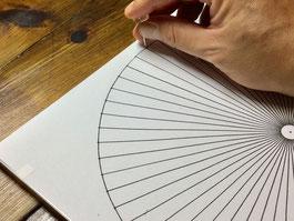 糸かけ曼荼羅の作り方