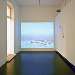 Videoinstallation im Kunstmuseum Thun von Patrik Marcet