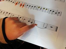 どれみ音楽教室 おとクラス ピアノ 視覚優位