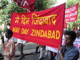 Manifestation du 1er mai, Mumbai
