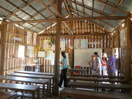 Schule im Ream Nationalpark Kambodscha