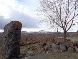 Armenische Landschaft bei Noratus