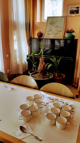Speisesaal im Haus der Hoffnung