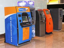 Geldautomaten am Yerevaner Flughafen