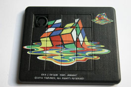 "Sliding puzzle ""Rubik's cube"""