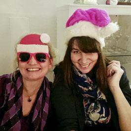 Unsere neuen Ladies Astrid und Sindy sind schon in Weihnachtsstimmung