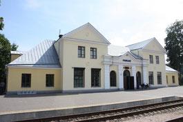 Пабраде (Pabradė), железнодорожная станция, Литва, фото Vilnietis
