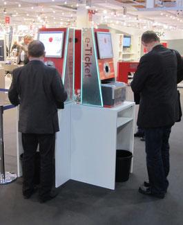 Messeregistrierung Besuchererfassung Veranstaltungssysteme Statistik Messe Kongress Ausweise Druck Registrierung e-Ticket