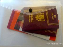 sobres de plástico para el bolso - www.AorganiZarte.com
