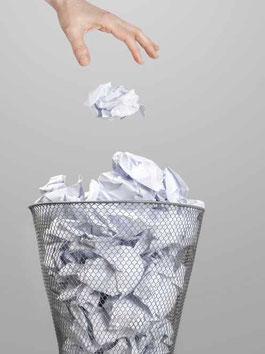 Ein nichtiger Arbeitsvertrag gehört in den Papierkorb - Rechtsanwälte für Arbeitsrecht