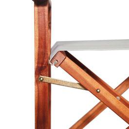 sedia in legno regista