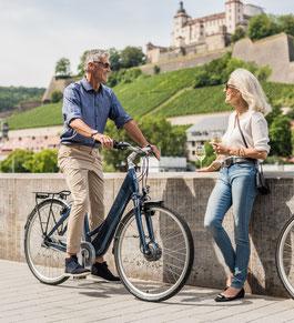 e-Bike Rahmen Komfort Winora