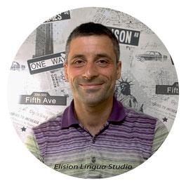 Paolo репетитор носитель итальянского языка. Москва. Elision Lingua Studio. Итальянский с носителем индивидуально.