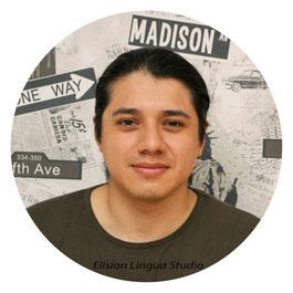 Javier репетитор носитель испанского языка. Москва. Elision Lingua Studio. Испанский с носителем индивидуально.