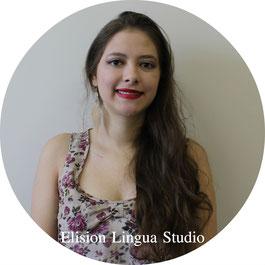 Claudia репетитор носитель испанского языка. Москва. Elision Lingua Studio. Испанский с носителем индивидуально.