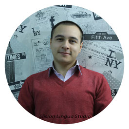 Cristian репетитор носитель испанского языка. Москва. Elision Lingua Studio. Испанский с носителем индивидуально.