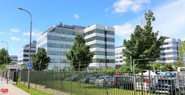 Immeubles Dassault Systèmes à Vélizy-Villacoublay.