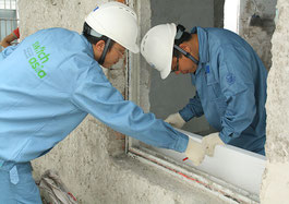 More than 1,500 SMEs in China learned energy-efficient construction techniques through the SWITCH-Asia project TRAIN THE TRAINERS