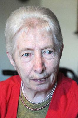 Die langjährige Mitarbeiterin Ursula Bartsch.