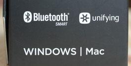 Unifying-Empfänger oder Bluetooth