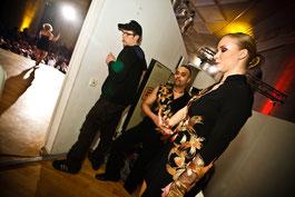 Backstage 2010 mit Mambomike kurz vor der Show